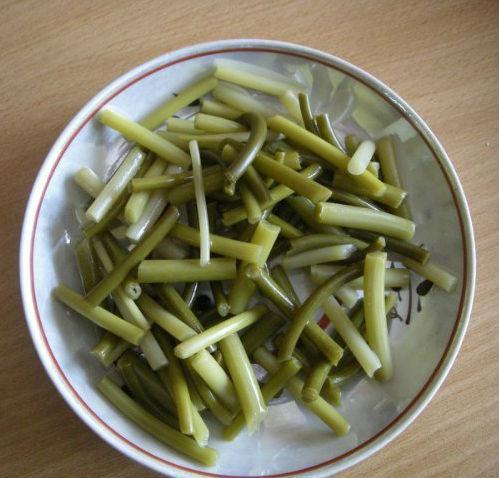 маринованные стрелки от чеснока рецепт приготовления