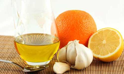 рецепт лимона и чеснока