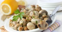 грибы с чесноком