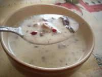 грибной соус с чесноком