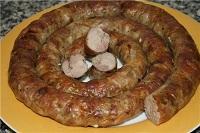колбаса с чесноком