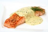 лосось в соусе