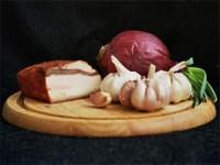 сало лук чеснок