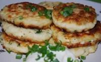 сырники с чесноком