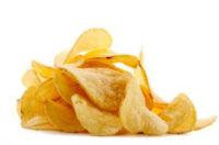 домашние чипсы с чесноком
